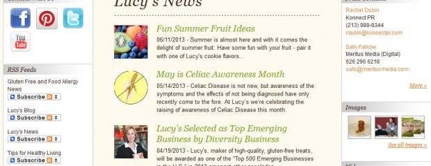 Lucys newsroom